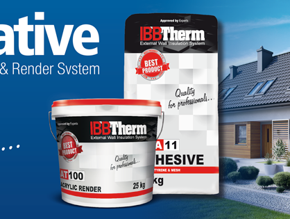 Why Choose IBB Therm External Wall Insulation & Render