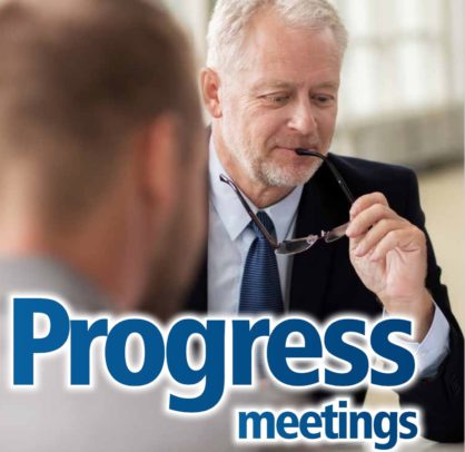 Project Valuation- Site Progress Meetings