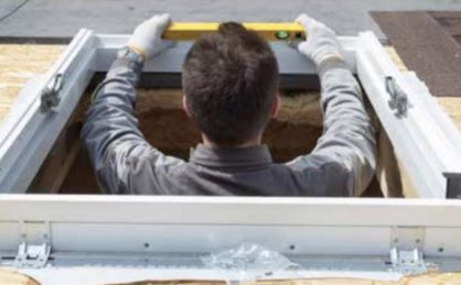 Modern Roof Access. How to install a roof hatch?