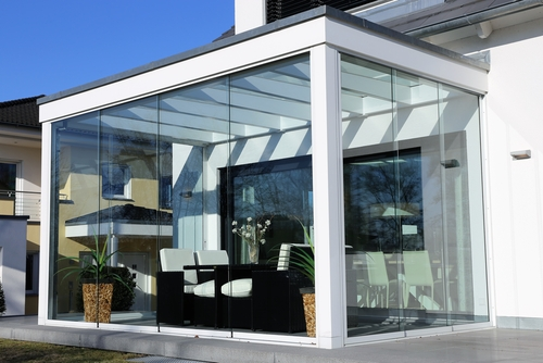 Conservatory like an extension