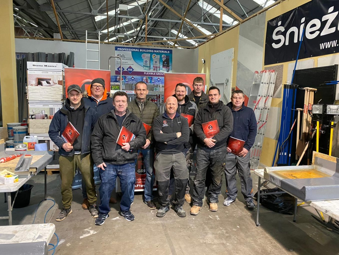 Congratulations to new roofing contractors